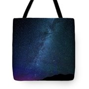 Milky Way Galaxy After Sunset Tote Bag
