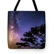 Milky Way In Newport, Or Tote Bag