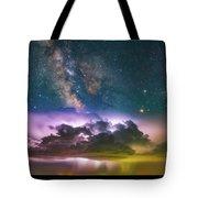 Milky Way Monsoon Tote Bag