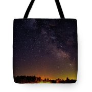 Milky Way, Moultonborough, Nh Tote Bag