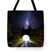 Milky Way Orb Tote Bag