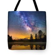 Milky Way Over Coffin Pond  Tote Bag