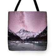 Milky Way Over Mt Cook Tote Bag