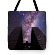 Milky Way Over New Technology Telescope Tote Bag