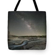 Milky Way Over The Texas Hill Country 2 Tote Bag