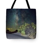 Milky Way White Sands Tote Bag