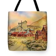 Mill Bodie Ghost Town California Tote Bag
