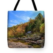 Mill By The Stream Tote Bag