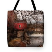 Mill - Clinton Nj - The Mill And Wheel Tote Bag