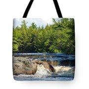 Mill Falls, Kejimkujik National Park, Nova Scotia Tote Bag