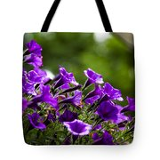 Mill Hill Inn Petunias Tote Bag