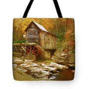Grist Mill In West Virginia Tote Bag by Ola Allen