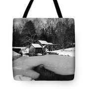 Mill On Ice Tote Bag