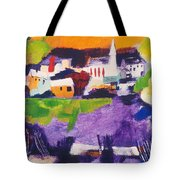 Mill Pond In Summer Tote Bag