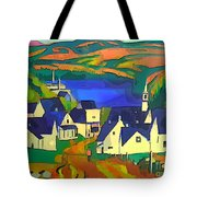 Mill Town, Quebec Tote Bag