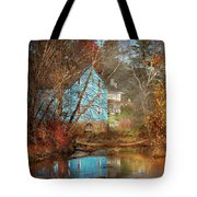 Mill - Walnford, Nj - Walnford Mill Tote Bag