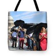 Millennium Bridge And St Pauls Tote Bag