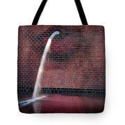 Millennium Park Fountain Chicago Tote Bag