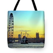 Millennium Sunset Tote Bag