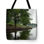 Miller Park Lake Tote Bag