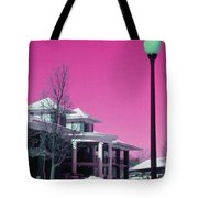 Miller Park Pavilion False Color Ir Number 1 Tote Bag