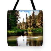 Millers Creek Painterly Tote Bag