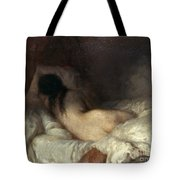 Millet: Reclining Nude Tote Bag