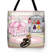 Millie Larue's French Room Tote Bag