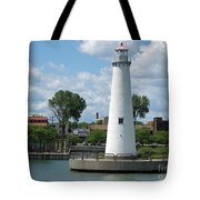 Milliken State Park Lighthouse Tote Bag