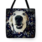 Milo The Basset Tote Bag