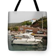 Milos On Agistri Island Tote Bag