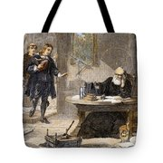 Milton And Galileo, 1638-39 Tote Bag