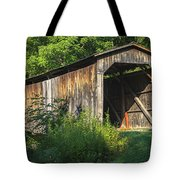Milton Dye Covered Bridge  Tote Bag
