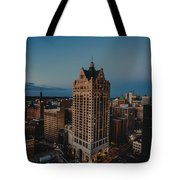 Milwaukee Aerial. Tote Bag