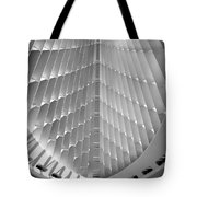 Milwaukee Art Museum Interior B-w Tote Bag