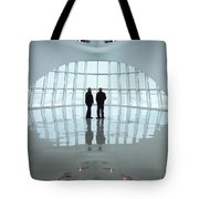 Milwaukee Art Museum Shadows Tote Bag