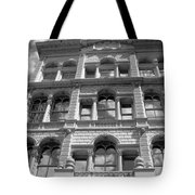Milwaukee Cloud Reflections Bw Tote Bag