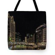 Milwaukee Downriver Tote Bag