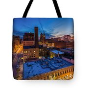 Milwaukee Evening Glimmer Tote Bag