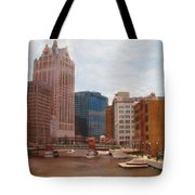 Milwaukee River View Tote Bag