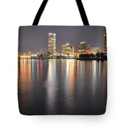 Milwaukee Skyline 2012 Tote Bag