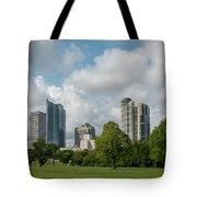 Milwaukee Skyline From Veterans Park 1 Tote Bag