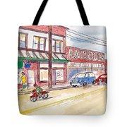 Milwaukie Avenue Tote Bag