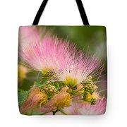 Mimosa Flower Tote Bag