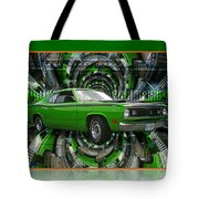 Mind Blown Duster Abstract Tote Bag