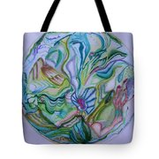 Mind Mandala Tote Bag