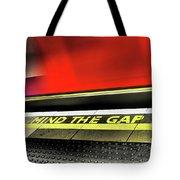 Mind The Gap Tote Bag by Rona Black