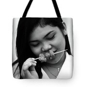 Mind Your Blouse Tote Bag