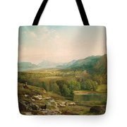 Minding The Flock Tote Bag
