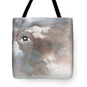 Mind's Eye In The Clouds Tote Bag